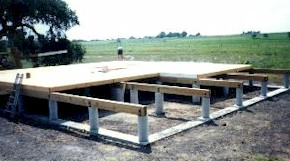 Pier and beam floor plans meze blog for House plans on piers and beams